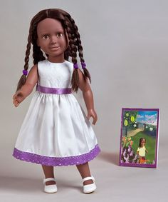 Take a look at this Vannah from Seychelles Doll by Vanange Dolls on #zulily today!