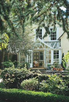 french country #porch #conservatory