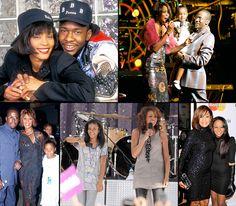 Whitney Houston and Bobby Brown's Family Album With Bobbi Kristina