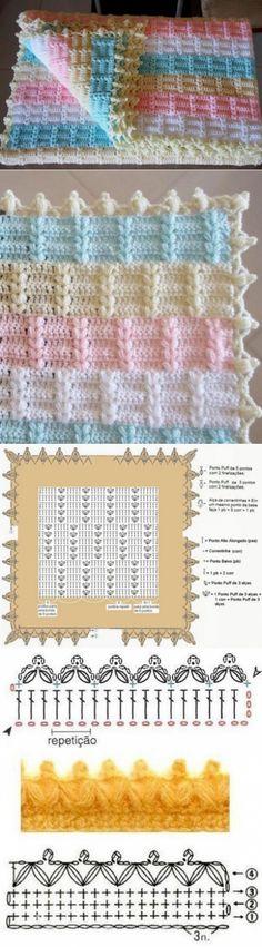 Как связать детский плед крючком Barbie Accessories, Couture, Crochet Baby, Diy And Crafts, Crochet Patterns, Crafty, Blanket, Sewing, Baby Art Crafts