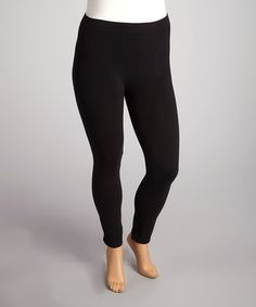 Take a look at these Dark Gray Leggings - Plus by The Shift-Dress Shop: Plus-Size Apparel, $10.00 on @zulily today!  Yay!
