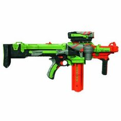 Vortext Nitron: Enormous disc blaster from Nerf - very cool.