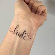 The Bride Temporary Tattoo