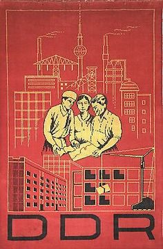 East Germany, History, Poster, Studying, Kunst, Historia