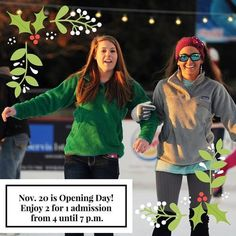 A Huntsville favorite, skating in the park, opens Friday! We're ready, are you? #ProudSponsor #RedstoneFCU #golocal #RedstoneFederalCreditUnion #huntsvilleal #huntsville #IGAlabama #ihearthsv #instahuntsville #hsvevents