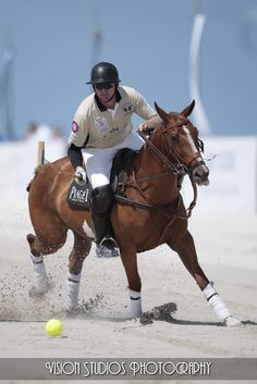 South Beach Polo Match. Yes, it is even better on the beach...