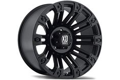 XD-810 Satin Black Rims for Trucks - Best Price on 810 XD Wheels by KMC - XD Series 810, 20 & 22 Inch Rims