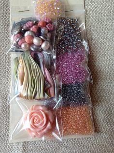 Bead Embroidery Shibori Ribbon Kit
