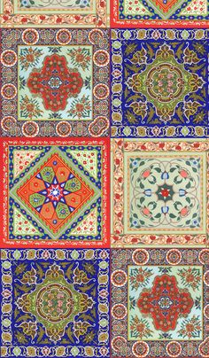 Russian Tadjik bandanas fabric by unseen_gallery_fabrics on Spoonflower - custom fabric