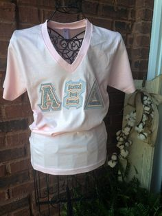 Sorortity Letter shirt  American Apparel  Alpha Xi Delta, Chi Omega, Sigma…