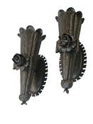 Restrike-by-j-art-iron-vintage-wrought-iron-wall-sconces-pair-lighting-wall-metal-traditional