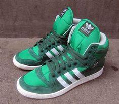 adidas Originals Decade OG Mid-Dark Green-White Vapour