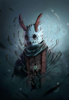ArtStation - Parasyte Demon, Sergi Lapuerta