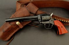 Single Action Revolver Heritage rough rider. Cowboy revolver