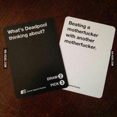 Deadpool being Deadpool