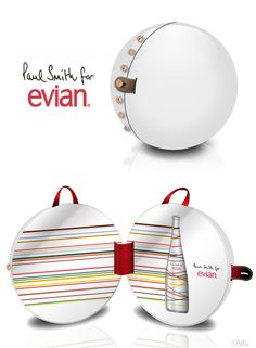 Evian  Paul Smith
