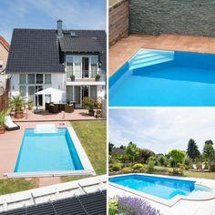 Pooltreppe Zum Pool Selber Bauen: Leichter Anschluss An Die Folie,  Verschiedene Formen Und Größen
