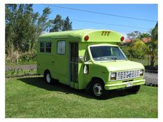 Little Green Tiny House Bus - $8,500. Now love this little bus trailer Esp Colour however with no bathroom and a hefty price I could buy a new small trailer with a bathroom - a necessity for my liking. Cute tho if you need something to travel in.
