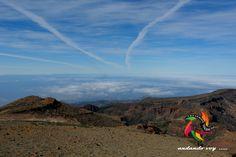 Altos de Guajara  #clouds #sky #hiking #senderismo ##hike #outdoors #landscape #tenerife #paisajes