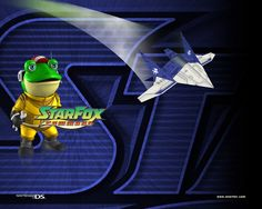 Slippy Toad (Star Fox Command) Wallpaper