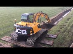 Sloot opschalen - YouTube Work Tools, Agriculture, Tractors, Monster Trucks, Construction, Youtube, Home, Building, Youtubers