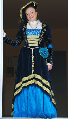 Cranach Blue Dress