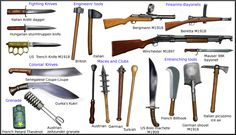 WW1 melee weapons by AndreaSilva60 on DeviantArt