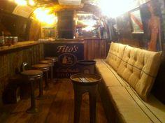 Tito's vodka trailer