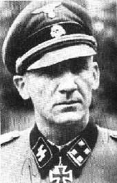 "RUDOLF LEHMANN officer in the 2'nd SS Panzer division ""Das Reich"""