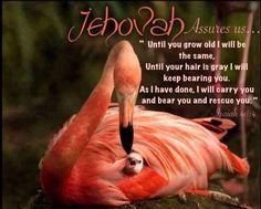 Jehovah is loyal to those who is loyal to him.