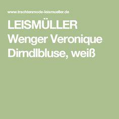 LEISMÜLLER Wenger Veronique Dirndlbluse, weiß