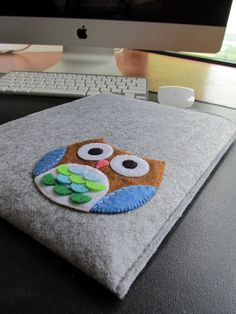 cute little IPad sleeve....whooo, whooo