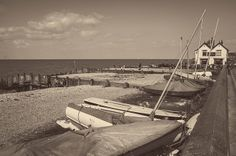 Old Neptune and Beach Whitstable..   Flickr - Photo Sharing!