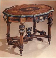 amazing Victorian table