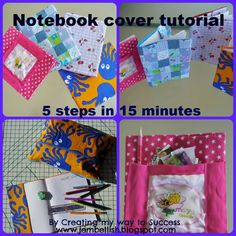 Creating my way to Success: Notebook covers tutorial - 5 steps in 15 minutes