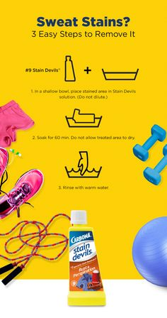 If only perspiration stains looked as great as an intense workout makes you feel. #LifeUnstained