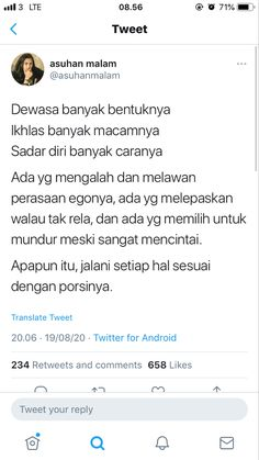 Quotes Rindu, Hadith Quotes, People Quotes, Mood Quotes, Best Quotes, Life Quotes, Quotes Galau, Postive Quotes, Aesthetic Words
