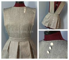 """This FREE apron pattern along with 9 additional  """"sew and no sew"""" apron patterns. Free enhanced Ebook by Craft Chat Eat. http://craftchateat.com"""