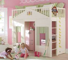 What little girl would'nt love this playhouse bed....