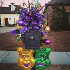 Mardi Gras decor