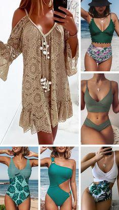 Trendy Fashion, Fashion Ideas, Womens Fashion, Summer Wear, Summer Fun, Summer Clothes, Summer Outfits, One Piece Swimsuit Slimming, Beach Items
