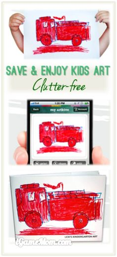 Feel overwhelmed with kids artworks and can't find enough storage space to keep them, or don't know how to organize them so you can find the piece you want later on? Try this app that easily digitize your child's artworks, chronically store them in the app for each child, from which you can tag each artwork for easy organizing them from more than one children, share via social media or sharing list you created. You can even select the artworks and put them into a book to printout as an art…