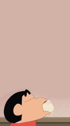 Shin Chan Wallpapers, Crayon Shin Chan, Cute Cartoon Wallpapers, Doraemon, Cute Art, Iphone Wallpaper, Backgrounds, Snoopy, Kawaii