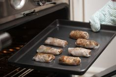Spring rolls are nothing more than non-fried egg rolls that are low in fat and calories. The key to making good spring rolls is to use fresh ingredients. You can fry them, cook them, bake them or eat them as-is. The rolls can be eaten as appetizers or as a main meal. They are easily prepared a day ahead of time.
