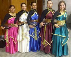 trajes de danza