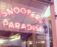 Snoopers Paradise - Brighton http://blog.lauraashley.com/go-see/oh-i-do-like-to-be-beside-the-seaside/