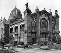 Pabellón Argentino - Expo Bellas Artes Centenario 1910