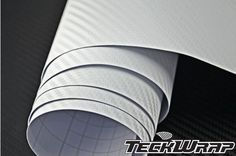 TeckWrap 18 X 5 Feet White 3d Carbon Fiber Car Vinyl Decal Film Roll with Bubble Free (90 Square Foot) Highly flexible, stretchable when heat with heat gun applied.. Easy to remove without leaving trace or residue, will not harm the painted surface of your vehicle.. High performance, long life, gives a great look to car, motorbike, cell phone, laptop, fridge, furniture, etc.. Provides a long lasti... #TeckWrap #AutomotivePartsAndAccessories