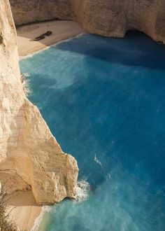 Navagio Beach, Zakynthos, Greece <3
