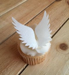 Angel Wings, Wings, Edible Paper Cupcake Toppers, Cake Toppers, Wafer Paper, Food Safe, READ Item Details